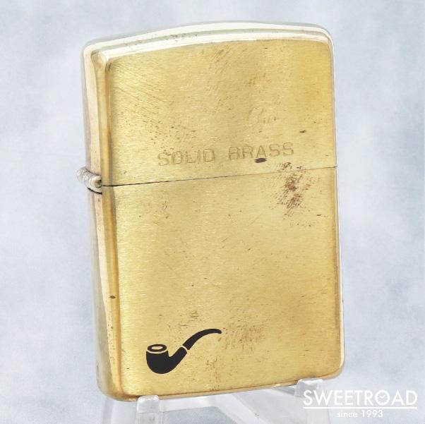 大規模セール 未使用品 ZIPPO ジッポー パイプ用ライター SOLID 出群 BRASS 1932刻印 vz-312 1989年製 ブラス ソリッド 真鍮ケース