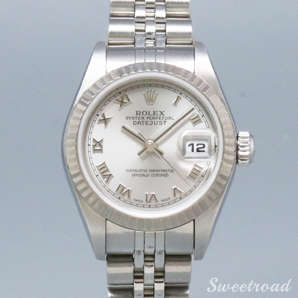 PARIS MIKI展示品【ROLEX/ロレックス】DATE JUST/Ref. 79174/18KWG/LADIES/Cal.2235/w-19437-PM