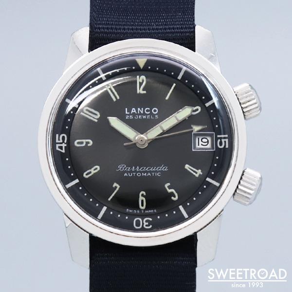 【LANCO/ランコ】Barracuda/バラクーダ/スーパーコンプレッサーケース/Cal.1146/1960年代/w-18837
