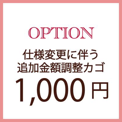 商品同時購入専用 オプション追加額支払い専用 1 数量は多 000円仕様変更に伴う追加金額調整専用修理 オプション 仕様変更 ストア クーポン