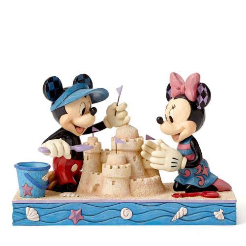 Disney Traditions フィギュア ミッキー&ミニー シーサイド DIS-TB-4050413