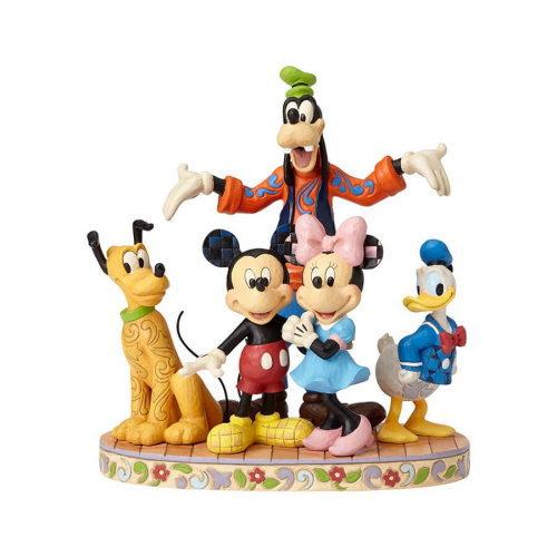 Disney Traditions フィギュア ミッキー&フレンズ ファブファイブ DIS-TB-4056752