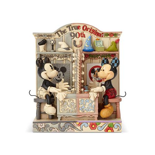 ジム・ショア- (JIM SHORE) フィギュア ディズニー トラディション -Mickey 90th Anniversary- DIS-TB-6001267