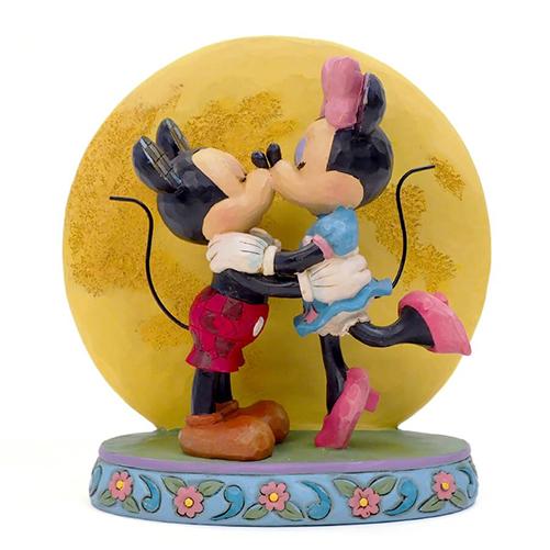 Disney Traditions フィギュア ミッキー&ミニー ムーンライト DIS-TB-6006208
