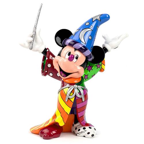 ロメロ・ブリトー(Romero Britto) フィギュア Sorcerer Mickey DIS-TB-4030815
