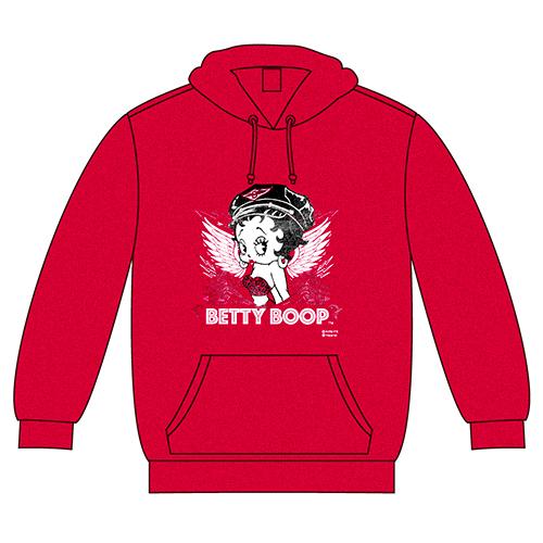 ベティブープ (Betty Boop) フーディー Angel Betty アンティーク・チェリー BB-KP-FD-002-AC