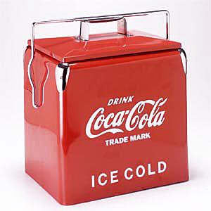 Coke (コカ・コーラ) ピクニック ストレージ レッド PJ-CBA