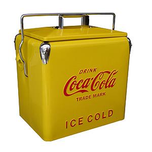 Coke (コカ・コーラ) ピクニック ストレージ イエロー PJ-CBYL