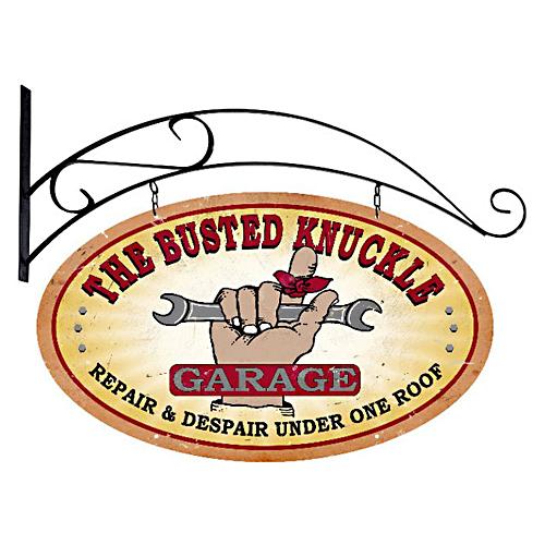 スティール サイン (スチール サイン) Busted Knuckle Garage BUST-038