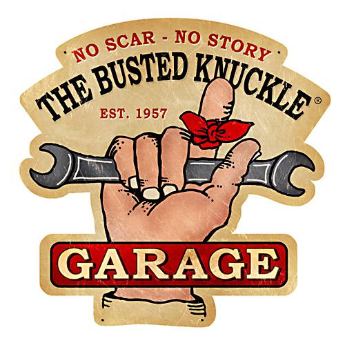 スティール サイン (スチール サイン) Busted Knuckle Garage BUST-134:Sweetwater american mart