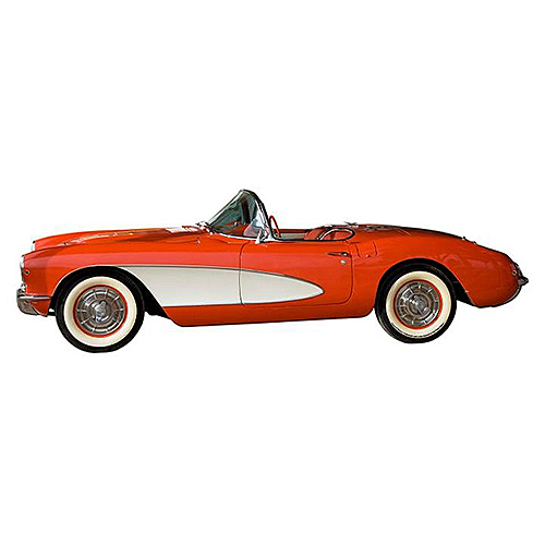 スティール サイン (スチール サイン) 1957 Corvette GMC-137