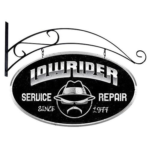 スティール サイン (スチール サイン)Lowrider Service LR-003
