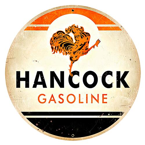 スティール サイン (スチール サイン)Hancock Gasoline VXL-089