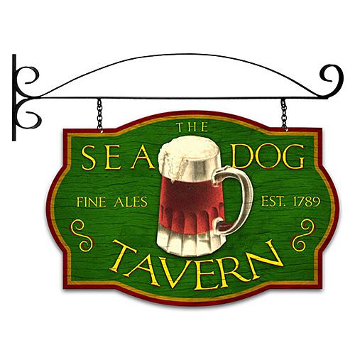 スティール サイン (スチール サイン) Sea Dog Tavern PS-168