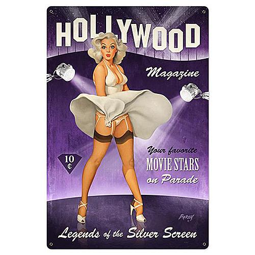 スティール サイン (スチール サイン) Hollywood Magazine XL BVL-041