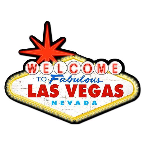 スティール サイン (スチール サイン) Welcome To Las Vegas PS-223