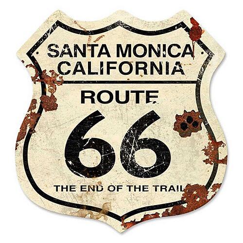 スティール サイン (スチール サイン) TR 66 California VXL-245