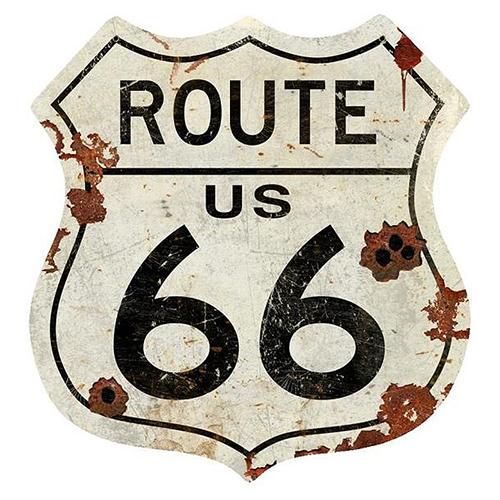 スティール サイン (スチール サイン) Route US 66 VXL-150