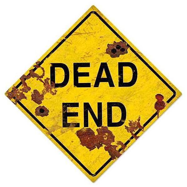 スティール サイン (スチール サイン) Dead End VXL-187