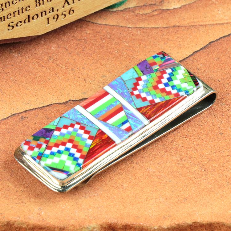 holy Mosaic (ホリー・モザイク) オパール ジュエリー マネークリップ HM-MC-49-00-004