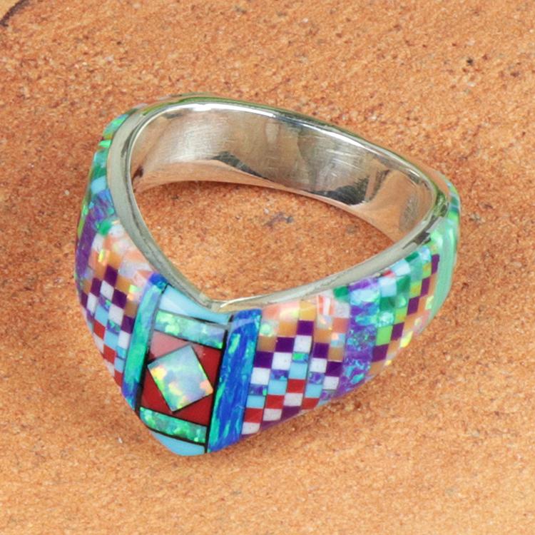 holy Mosaic (ホリー・モザイク) オパール ジュエリー リング HM-RN-54-62-001