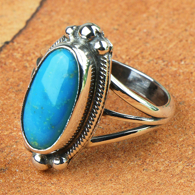 ネイティブアメリカン ナバホ ハンドメイドアクセサリー ブランド買うならブランドオフ シルバー925 指輪 RI0050 リング インディアン ジュエリー 推奨 NAVAJO