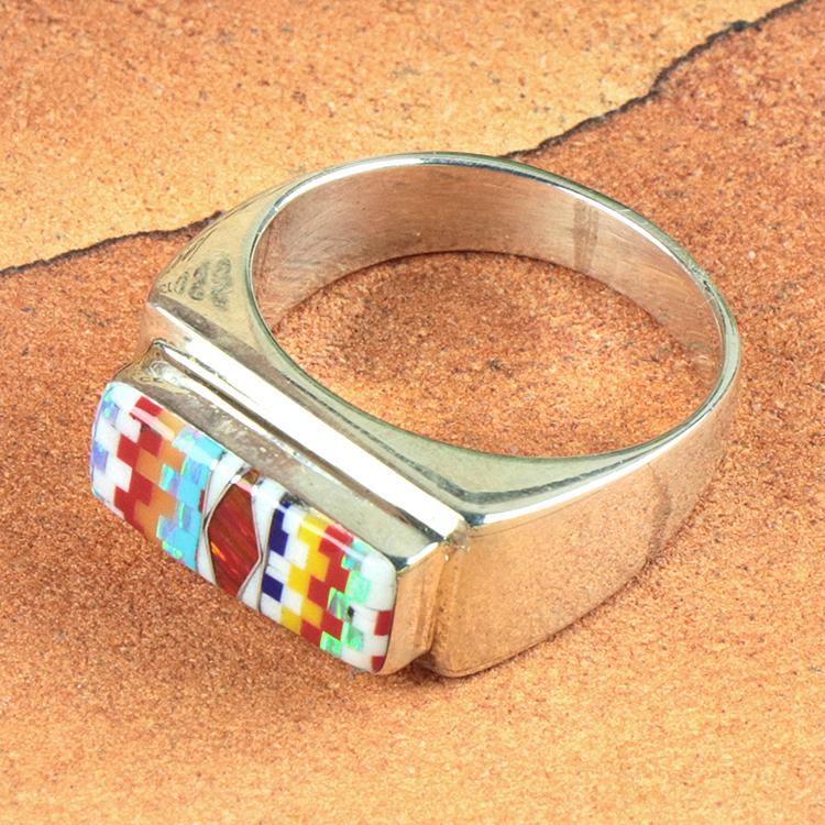 holy Mosaic (ホリー・モザイク) オパール ジュエリー リング HM-RN-49-35-169