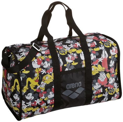 DIS-3363 arena arena disney Disney Mickey ミニー Donald delivery bag Boston bag swimming swimming BLK