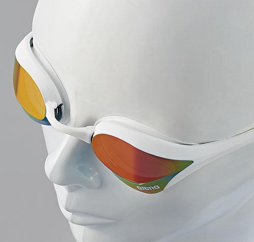 供有AGL-170 arena体育馆COBRA ultra眼镜蛇风镜靠垫的游泳风镜游泳风镜阴结尾游泳游泳比赛使用