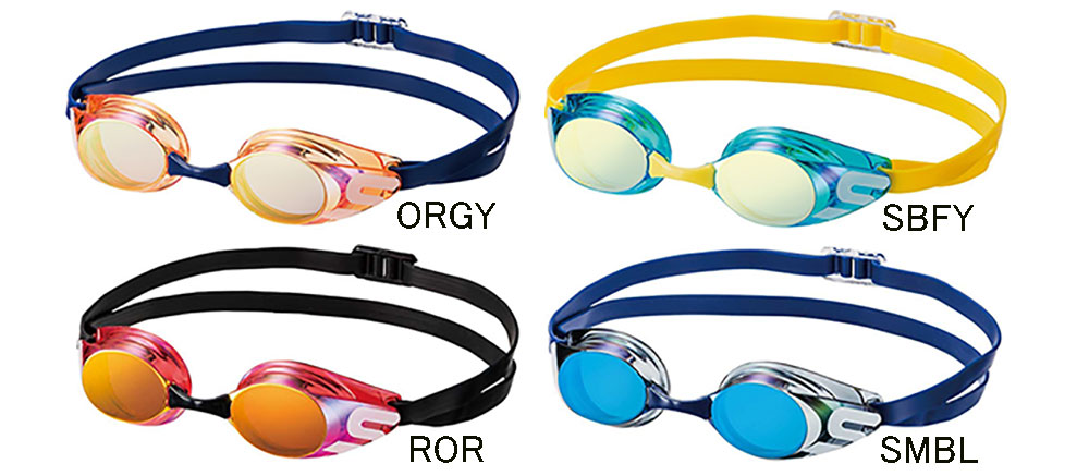 SR-11JM swans swans for junior goggles for kids mirror goggles ノンクッション swimming goggles swim goggles swim for swimming fs3gm