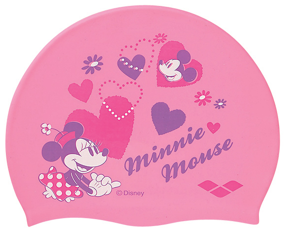 Only the pink! DIS-2359 arena arena disney Disney Mickey Minnie mouse swimming Cap swim caps silicone Cap swimming swimming