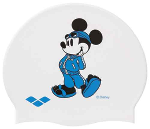 Only in the navy! DIS-3307 arena arena disney Disney Mickey swimming cap swimming cap silicon cap swimming swimming race