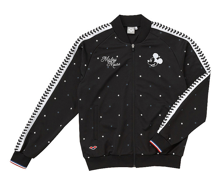 Only as for the small size! A DIS-3315 arena arena disney Disney Mickey jersey jacket swimming BKGY deep-discount status cheap sale!