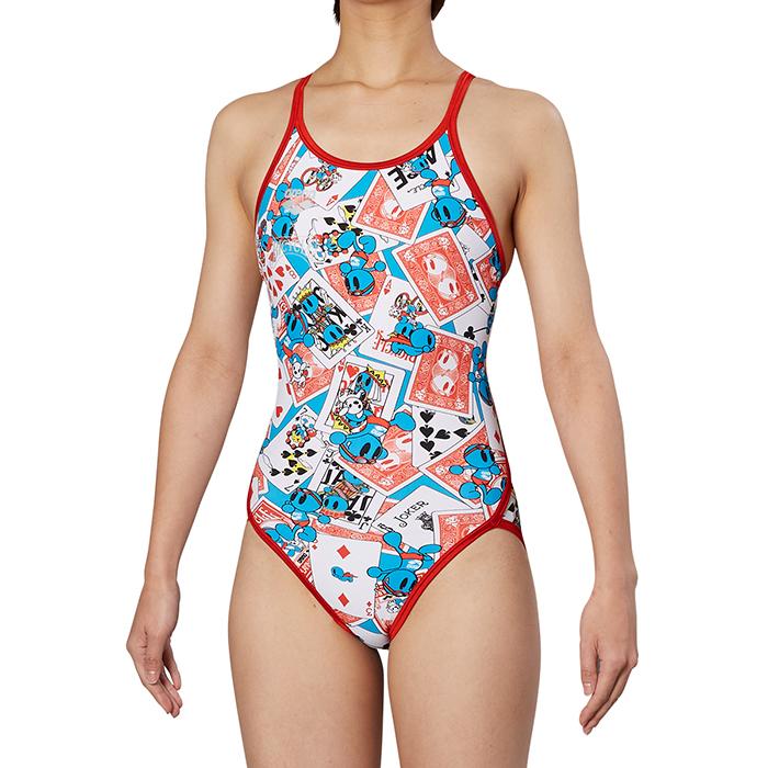 【あす楽対応】FSA-9609W arena アリーナ ToughSuit タフスーツ レディース 女性用 スーパーフライバック タフスキン 練習用水着 練習水着 競泳水着 競泳用水着