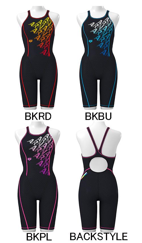 【あす楽対応】SAR-9123W arena アリーナ ToughSuit タフスーツ レディース 女性用 ハーフスパッツ ハーフスーツ タフスキン 練習用水着 練習水着 競泳水着 競泳用水着