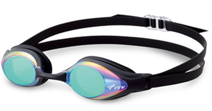 V131MR Tabata Tabata View Shinari bends; LVP fs04gm for the swimming goggles swimming goggles swimming swimming race with the mirror goggles cushion