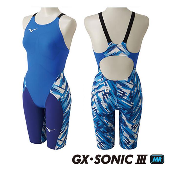 【送料無料】【あす楽対応】【FINA承認】XS・Sサイズのみ!N2MG6202 mizuno ミズノ GX-SONIC3-MR レディース 女性用 ハーフスーツ ハーフスパッツ 競泳水着 競泳用水着 高速水着