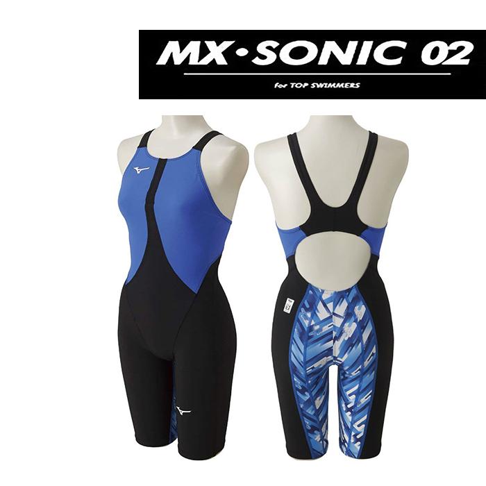 【あす楽対応】【FINA承認】N2MG8212 mizuno ミズノ MX-SONIC02 レディース 女性用 ハーフスパッツ ハーフスーツ 競泳水着 競泳用水着 激安・格安セール!