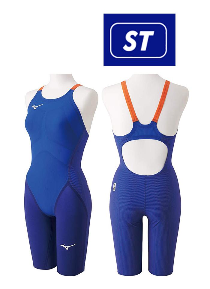 【送料無料】【あす楽対応】【FINA承認】N2MG9201 mizuno ミズノ GX-SONIC4-ST レディース 女性用 ハーフスーツ ハーフスパッツ 競泳水着 競泳用水着 高速水着