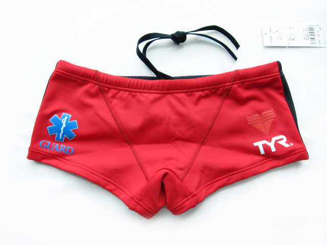 BSURF-10M TYR TIA SURFPATROL LIFE GUARD mens men's lifeguard Boxer shorts short Boxer open water swimming swimsuit practice for swimsuit RD fs3gm