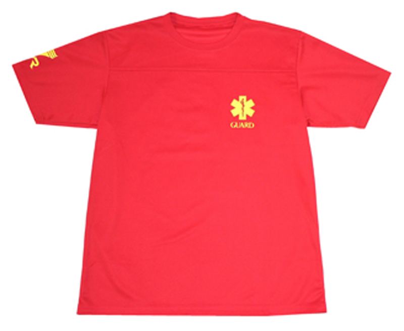 Only as for XL size! Short-sleeved T-shirt RD for the TGRD2-13M TYR tear SURFPATROL LIFE GUARD lifesaver