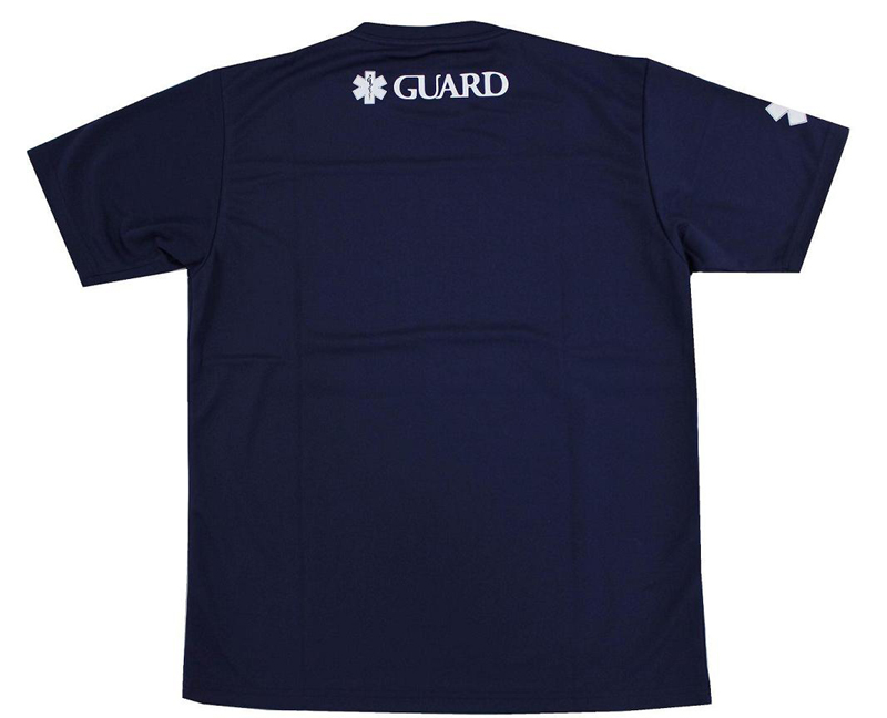 Only as for the small size! TGRD1-13M TYR tear SURFPATROL LIFE GUARD lifesaver short sleeves T-shirt swimming NV