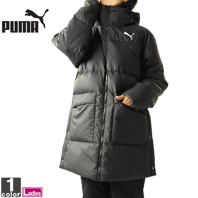 ダウンジャケット プーマ PUMA レディース 580974 ダウンコート 1911 フルジップ パーカー フード ジャケット 防寒 防寒コート 送料無