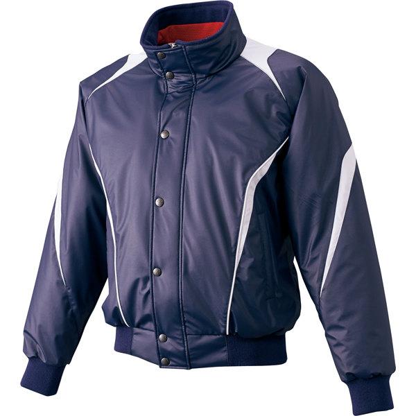 《送料無料》SSK(エスエスケイ) 蓄熱グラウンドコート フロントフルZIP+ボタン比翼付き 中綿 BWG1007 1511 メンズ 紳士 野球 トレーニング ジャケット 中綿