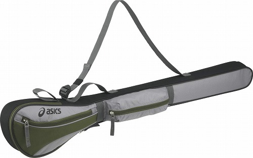 ■asicsのアクセサリー asics 再再販 アシックス クラブバッグ 1本用 GGG869 1080 1610 メンズ スポーツ ゴルフ アクセサリー お買得 グラウンド 球技 レディース