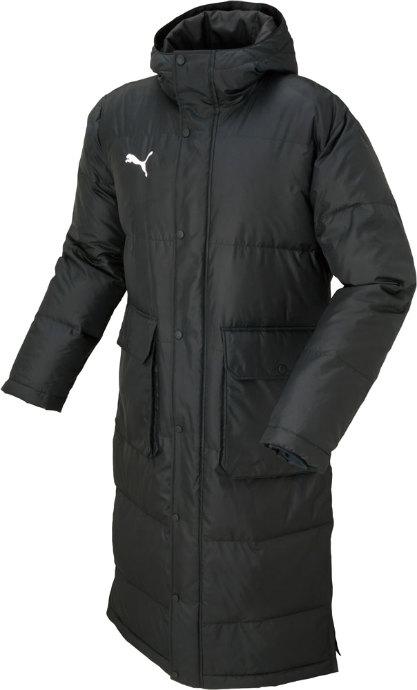 《送料無料》PUMA (プーマ) TT ESS PRO ロングダウンコート 654984 01 1701 メンズ 紳士 男性 サッカー ウインドウェア