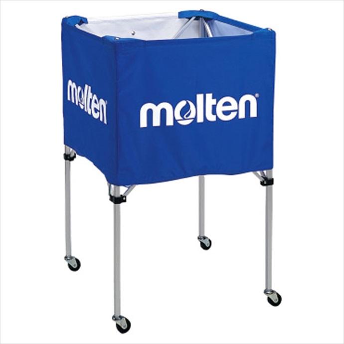 《送料無料》molten (モルテン) 折りたたみ式ボールカゴ(中・背高) BK20HB 1710 学校機器 器具 備品
