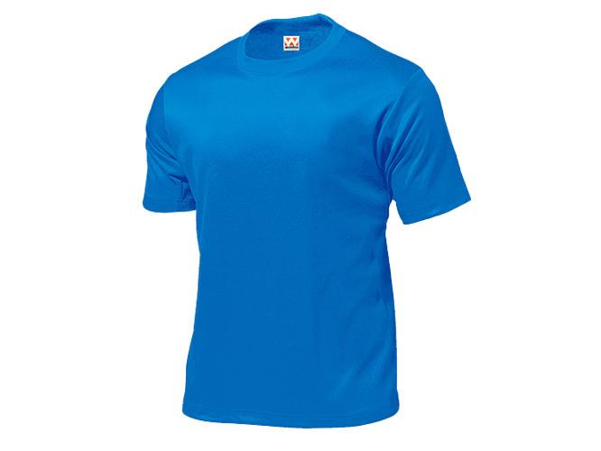■WUNDOUのウェア WUNDOU ウンドウ タフドライTシャツ ブルー P-110-4XL 1710 ウェア オールスポーツ メンズ 紳士 新着 待望 男性 ポイント消化