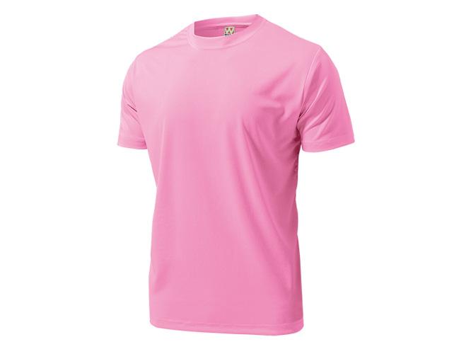 ■WUNDOUのウェア 高級品 実物 WUNDOU ウンドウ ドライライトTシャツ ピンク P-330 1710 ウェア ポイント消化 オールスポーツ 紳士 男性 メンズ