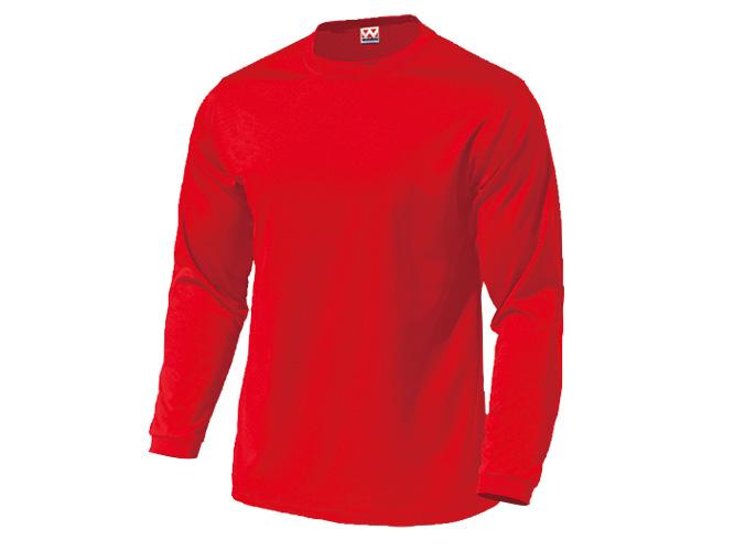 ■WUNDOUのウェア WUNDOU ウンドウ 25%OFF ドライライト長袖Tシャツ レッド P-350 オールスポーツ 1710 メンズ 新作送料無料 ウェア 男性 紳士